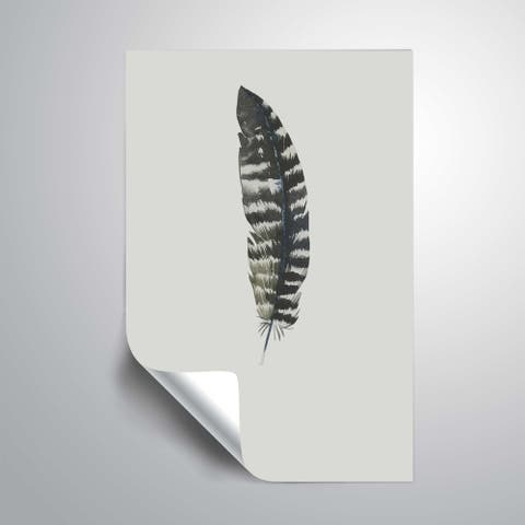 ArtWall 'Feather 05' Removable Wall Art Mural