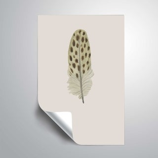 ArtWall 'Feather 10' Removable Wall Art Mural