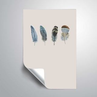 ArtWall 'Feather 11' Removable Wall Art Mural