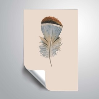 ArtWall 'Feather 04' Removable Wall Art Mural