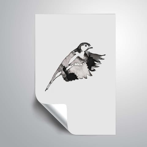 ArtWall 'Flying Bird II' Removable Wall Art Mural