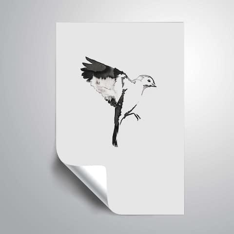 ArtWall 'Flying Bird I' Removable Wall Art Mural