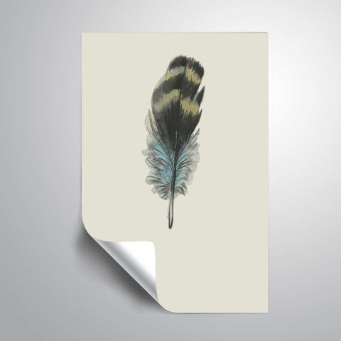 ArtWall 'Feather 03' Removable Wall Art Mural