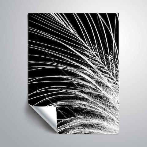 ArtWall 'White Feather' Removable Wall Art Mural