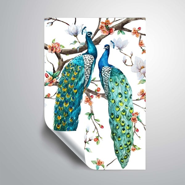 ArtWall 'Paradise Birds I' Removable Wall Art Mural. Opens flyout.