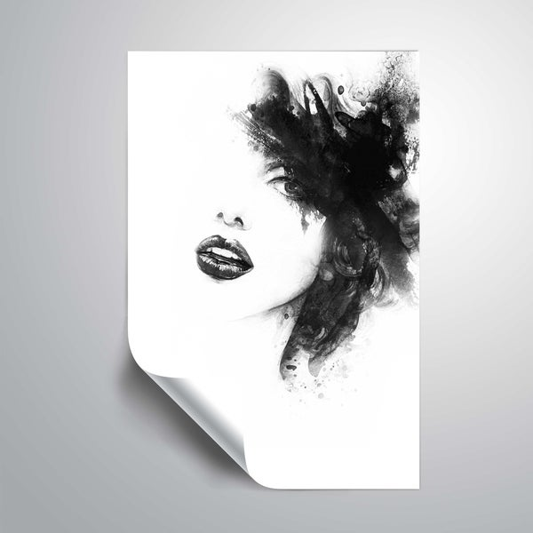 ArtWall 'Shadow Girl' Removable Wall Art Mural. Opens flyout.
