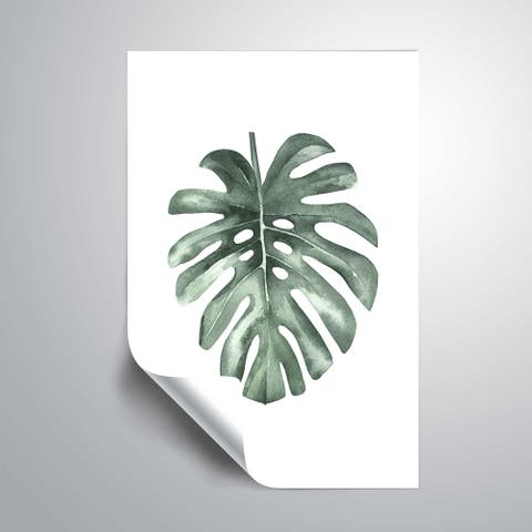ArtWall 'Water leaf' Removable Wall Art Mural
