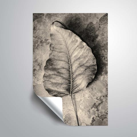 ArtWall 'Dried leaf' Removable Wall Art Mural