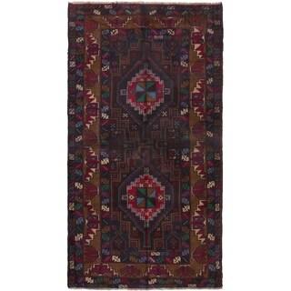 ECARPETGALLERY Hand-knotted Kazak  Wool Rug - 3'3 x 6'2