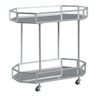 Link to Kadinburg Silver Finish Bar Cart Similar Items in Home Bars