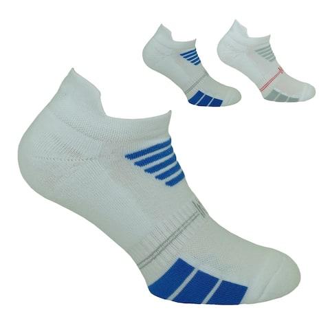 Norfolk® 2PK Cotton Cushioned Low Cut Mens Sport Sock