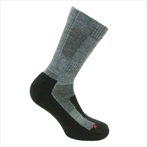 Norfolk® 2PK Lightweight Cushioned Merino Wool Crew Sock