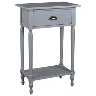 Juinville Gray Vintage Accent Table