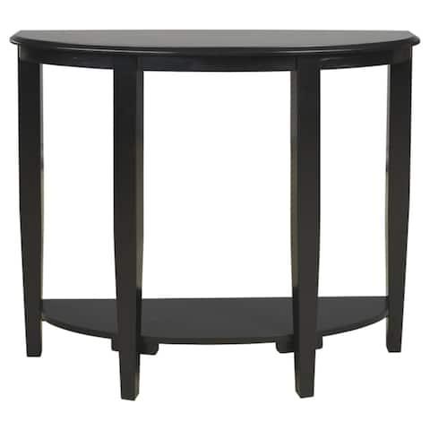 Altonwood Black Console Sofa Table