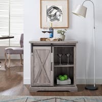 The Gray Barn Wind Gap Sliding Barn Door Console - 32 x 16 x 32h