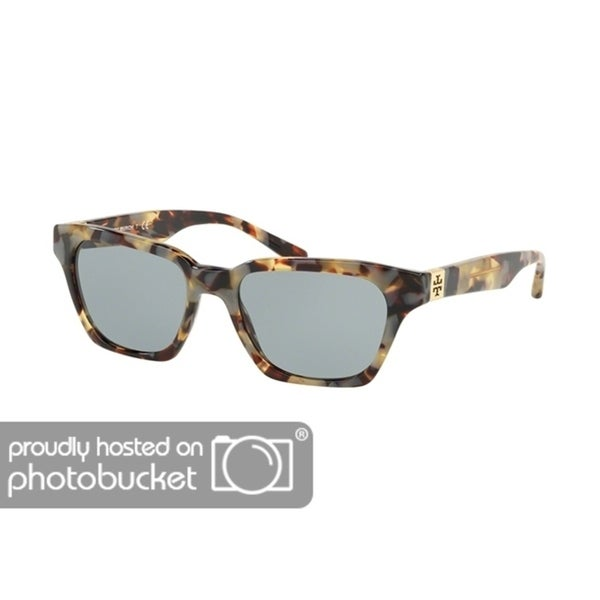 095b7622a4956 Shop Tory Burch Rectangle TY7119 Women s PORCHINI TORT Frame SOLID LIGHT  GREY Eyeglasses - Free Shipping Today - Overstock - 25490295