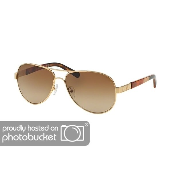 809d38428cb3 Shop Tory Burch Pilot TY6010 Women's GOLD BLOCK Frame BROWN GRADIENT  Eyeglasses - Free Shipping Today - Overstock - 25490319