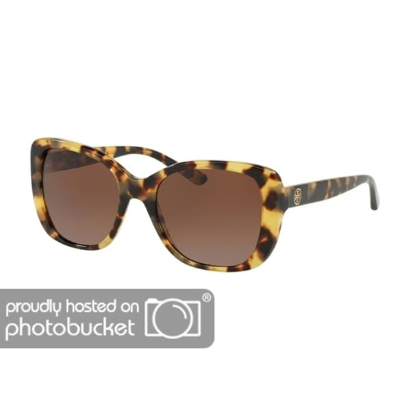 777a24dad826 Shop Tory Burch Rectangle TY7114 Women's TOKYO TORT Frame BROWN GRADIENT  POLARIZED Eyeglasses - Free Shipping Today - Overstock - 25490367