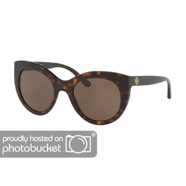 4b02a9e25925 Shop Tory Burch Cat Eye TY7115 Women's DARK TORTOISE Frame BROWN SOLID  Eyeglasses - Free Shipping Today - Overstock - 25490389