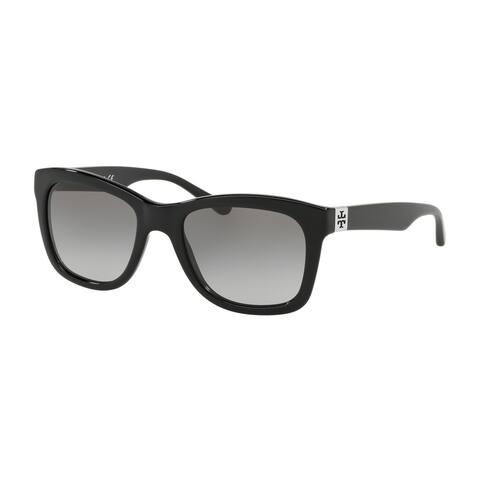 98ac58940c Tory Burch Rectangle TY7118 Women s BLACK BLACK Frame GREY GRADIENT  Eyeglasses