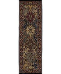 "Nourison Hand-tufted Multi-colored Wool Runner (2'3 x 7'6) - 2'3"" x 7'6"""
