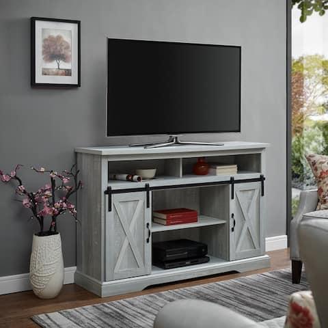 The Gray Barn Wind Gap Sliding Door Tv Stand Console