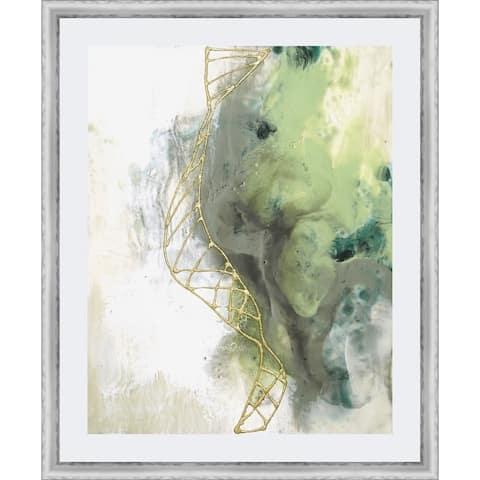 Gold Illusions II Framed Print