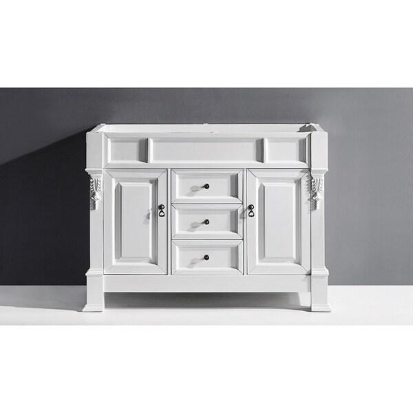 "Huntshire 48"" Single Bathroom Vanity Cabinet in White"