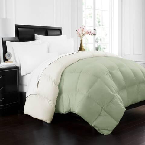 Hotel Collection Goose Down Alternative Reversible Comforter