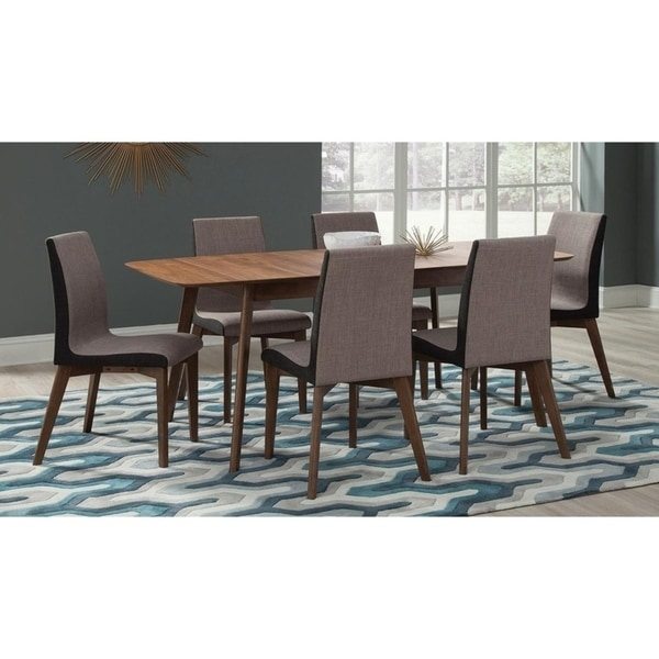 Crest Butterfly Leaf Extension Table 7-piece Dining Set