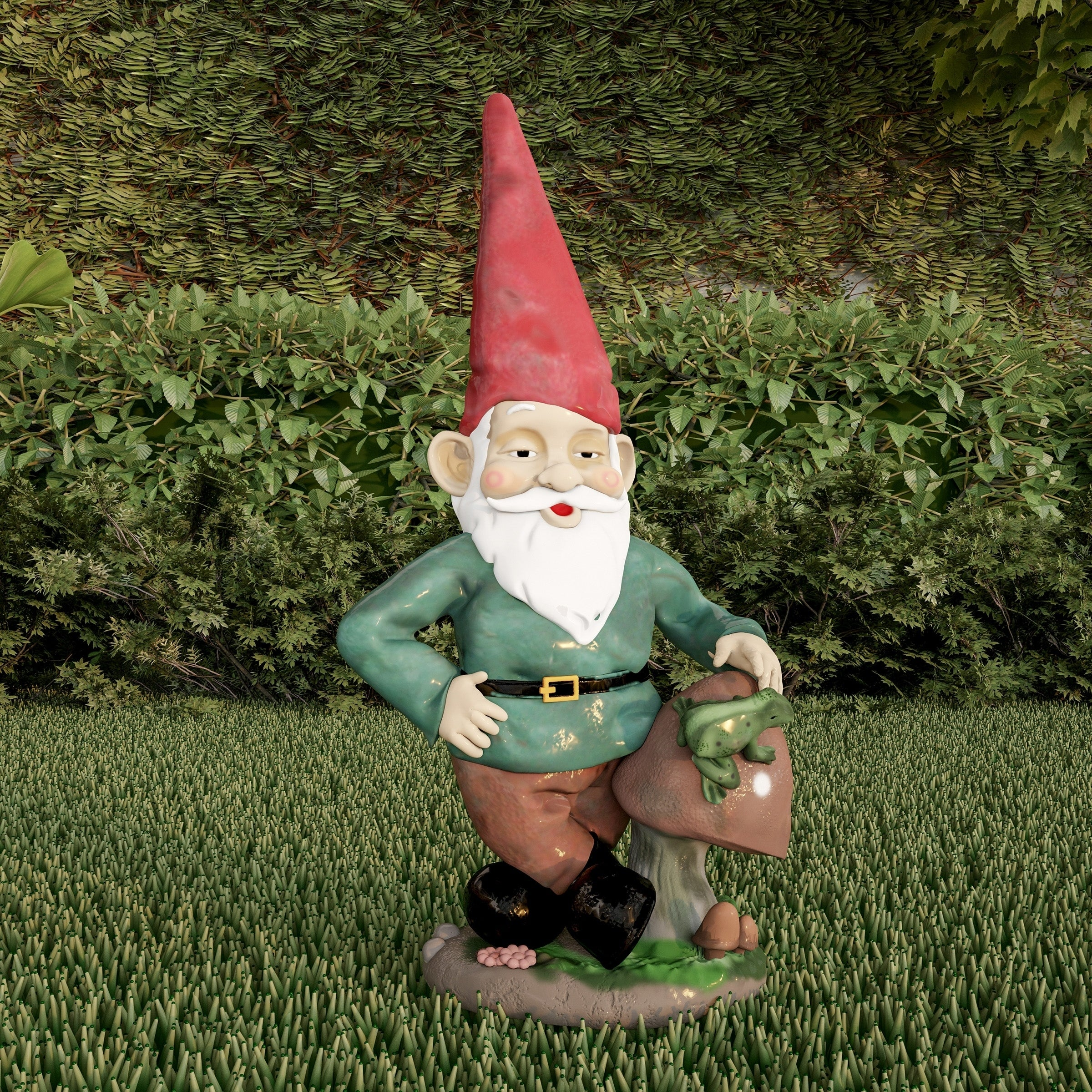 Shop Lawn Gnome Statue Fun Classic Style Resin Figurine By Pure Garden    Free Shipping On Orders Over $45   Overstock   25491413