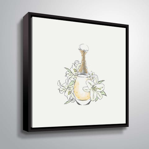 ArtWall 'Perfume III' Gallery Wrapped Floater-framed Canvas