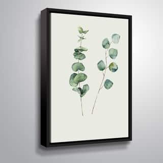 Carson Carrington 'Botanical I' Gallery Wrapped Floater-framed Canvas