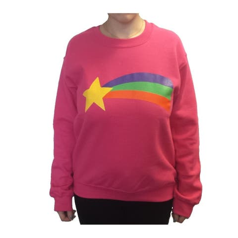 Mabel Pines Rainbow Adult Crew Neck Sweatshirt