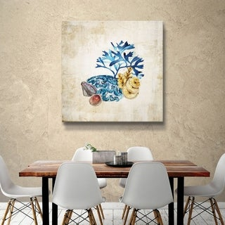 ArtWall 'Sea life II' Gallery Wrapped Canvas