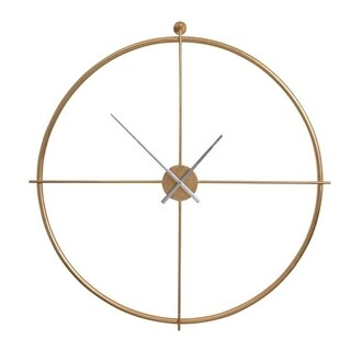 Perry Gold Round Wall clock - N/A