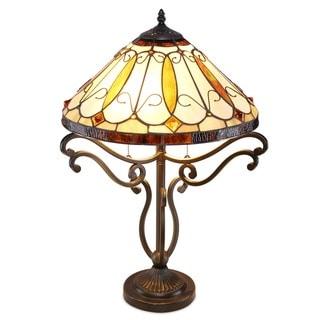 Arroyo Tiffany-style Table Lamp