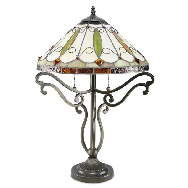 Arroyo tiffany style table lamp arroyo tiffany style table for Tiffany style arroyo floor lamp