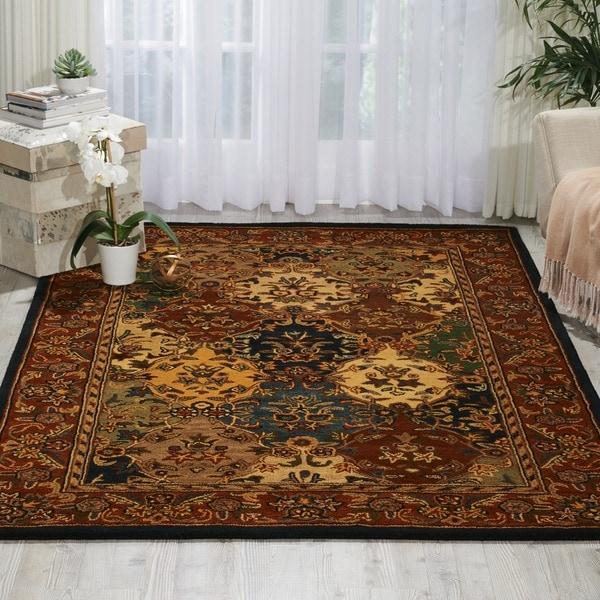 Nourison Handmade Multicolor Wool Rug - 8' x 10'6
