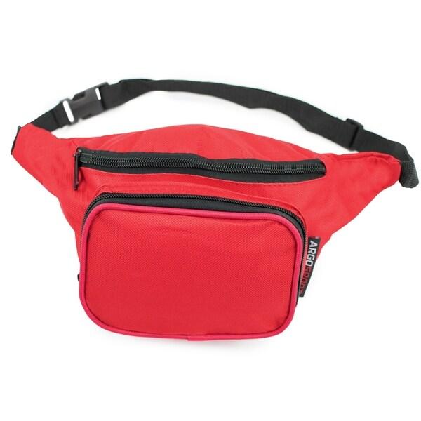 cc1803935272 Shop Argo Sport 12 in. Multi-pocket Waist Bag Pack - Free Shipping ...