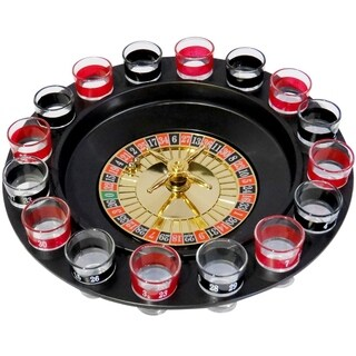 Evelots Casino Style Roulette Drinking Game