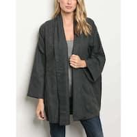 JED Women's Oversized Kimono Cardigan Jacket
