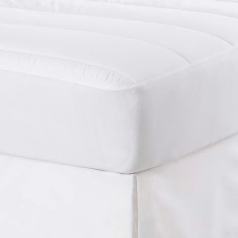 Martex Purity White Mattress Pad powered by SILVERbac