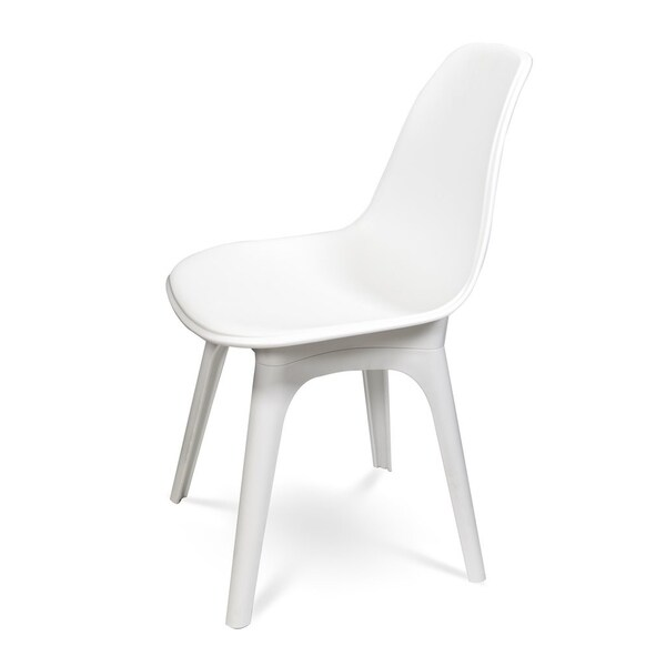 (Set of 4) - EOS Dining Chair - White