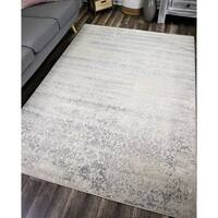 Maxwell Vintage Transitional Rug Faded Grey