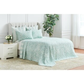 Bristol Hand Stitched Cotton Quilt (Shams Not Included)
