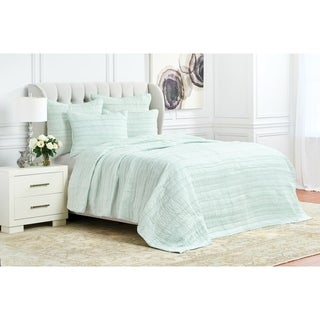 Priya Hand Stitched Cotton Voile Quilt (Shams Not Included)
