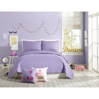 Urban Playground Coty Purple Quilt Set