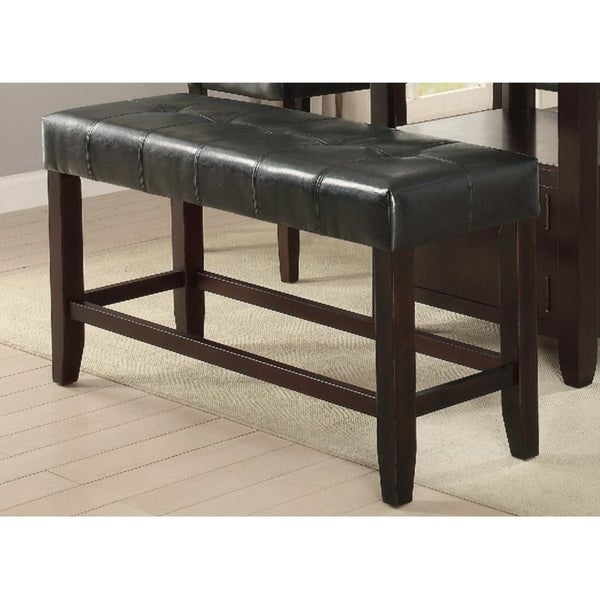 Malone Casual Counter Height Bench