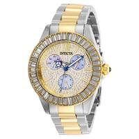 Invicta Women's Angel 28447 Stainless Steel, Gold Watch